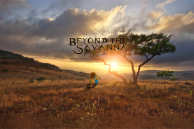 Beyond The Savanna, Maryann Martinsen, Book Cover Social Banner